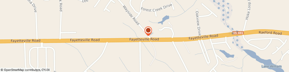 Route/map/directions to BP, 28376 Raeford, 9615 Fayetteville Road