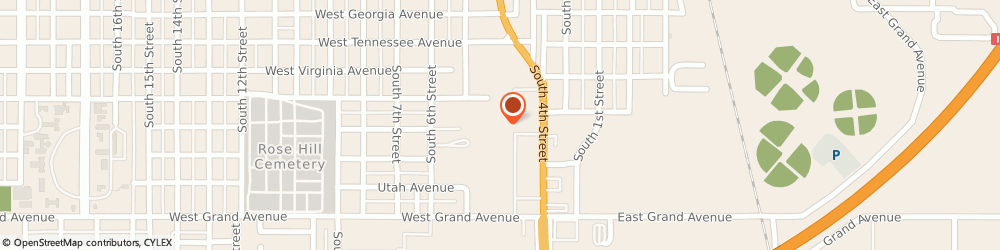 Route/map/directions to Regional Finance, 73018 Chickasha, 1740 S 4th Street