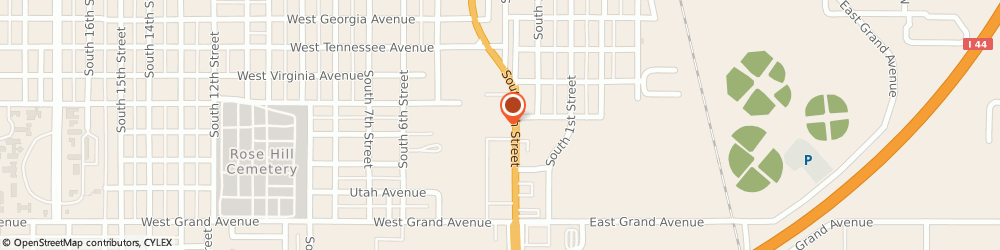 Route/map/directions to STATE FARM Joe Victery, 73018 Chickasha, 1706 S 4Th St, Suite C