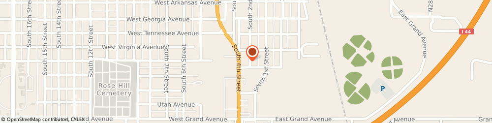 Route/map/directions to World Finance, 73018 Chickasha, 1625C S 4th St