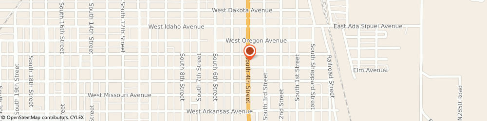 Route/map/directions to Bell Finance, 73018 Chickasha, 916 S 4th St
