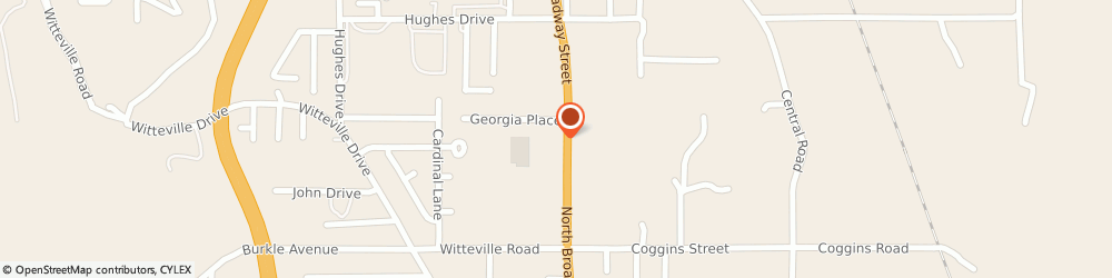 Route/map/directions to Arby's, 74953-2008 Poteau, 2303 N Broadway St