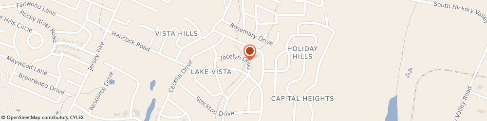 Route/map/directions to Chattanooga Plumbing and Drain Services, 37416 Chattanooga, 6324 Jocelyn Dr