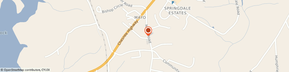 Route/map/directions to Mayo First Baptist Church, 29368 Mayo, 190 Mayo Rd