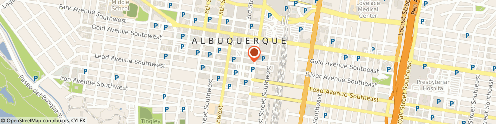 Route/map/directions to Farmers Insurance, 87101 Albuquerque, STREET