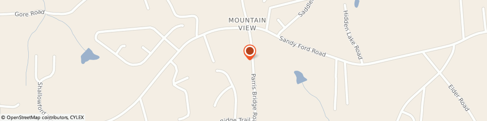 Route/map/directions to View Church - Mountain View Baptist, 29316 Boiling Springs, 5555 Parris Bridge Road