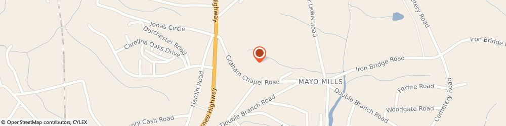 Route/map/directions to Graham Chapel Wesleyan Church, 29330 Cowpens, 235 Graham Chapel Rd