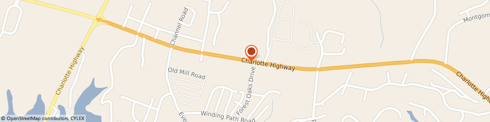Route/map/directions to CubeSmart Self Storage, 29710 Lake Wylie, 4937 Charlotte Highway #100