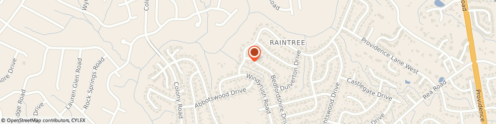 Route/map/directions to FAST FRAME, 28226 Charlotte, 8316-802 Pineville-Matthews Rd