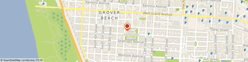 Route/map/directions to Ymca Child Care Centers - Grover Beach, 93420 Arroyo Grande, 365 SOUTH 10TH STREET