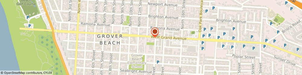 Route/map/directions to Texaco, 93433 Grover Beach, 1284 Grand Ave