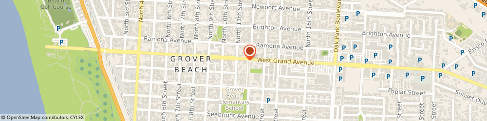 Route/map/directions to Napa Auto Parts - Grover Beach Auto Parts Of Grover Beach, 93433 Grover Beach, 1150 GRAND AVE