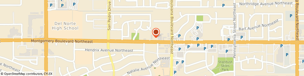 Route/map/directions to Farmers Insurance - Jeffrey Kantor, 87109 Albuquerque, 6821 Montgomery Blvd NE
