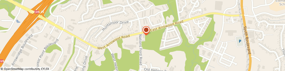 Route/map/directions to CITGO Osei Food And Beverage, 28273 Charlotte, 9001 Nations Ford Road