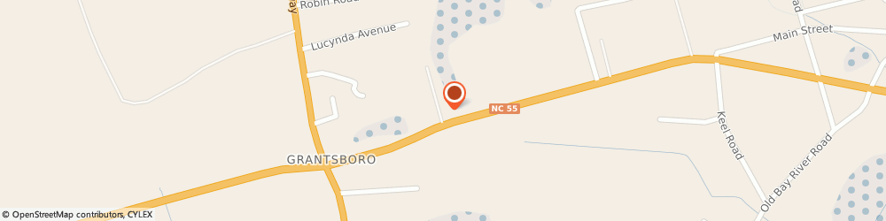 Route/map/directions to Navy Federal Credit Union ATM, 28529 Grantsboro, 11155 Nc Hwy 55