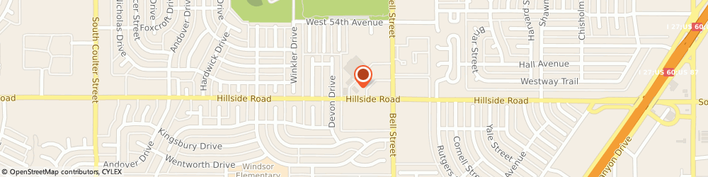 Route/map/directions to Great Clips, 79109 Amarillo, 6200 Hillside Rd