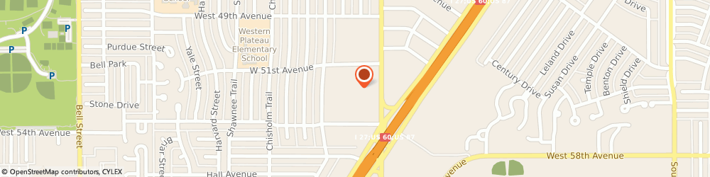 Route/map/directions to 84 Lumber Company, 79109 Amarillo, 5200 S WESTERN STREET
