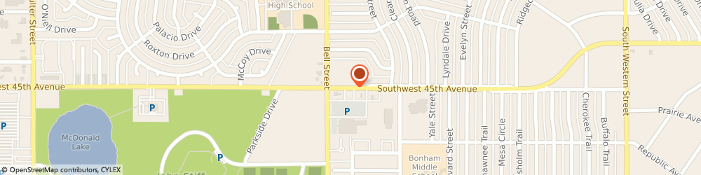 Route/map/directions to Avis Rent a Car, 79109 Amarillo, 5900 SW 45TH AVE