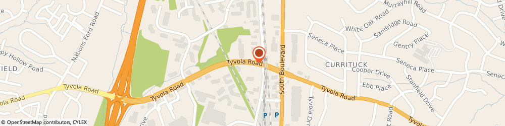 Route/map/directions to Keffer Tire And Service, 28217 Charlotte, 1004 Tyvola Rd