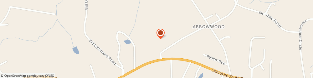 Route/map/directions to Arrowood Baptist Church, 29323 Chesnee, 1410 Highway 11 W