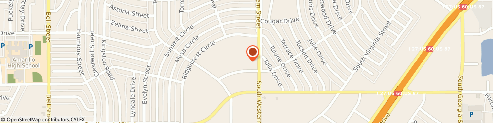 Route/map/directions to Nationwide Insurance Companies, 79109 Amarillo, 4320 S WESTERN ST