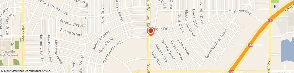 Route/map/directions to Aflac Insurance Duane Wyly Agent, 79109 Amarillo, 4200 RIDGECREST CIR STE A-4