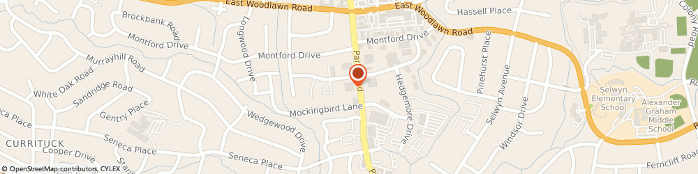 Route/map/directions to RANDSTAD, 28209 Charlotte, 4600 PARK RD