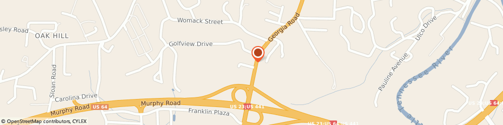 Route/map/directions to Amy Manshack - State Farm Insurance Agent, 28734 Franklin, 409 Georgia Road