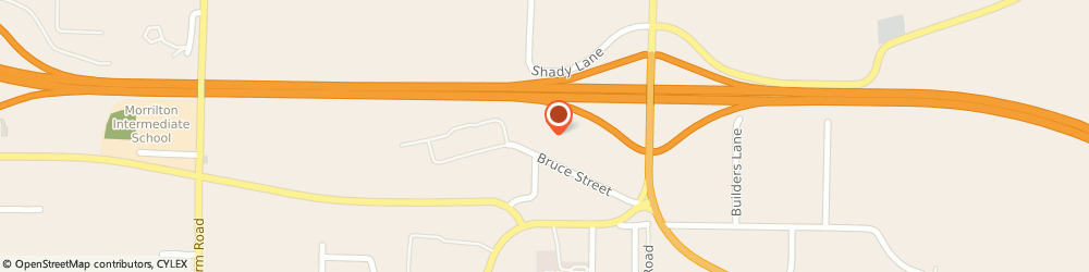 Route/map/directions to Roberson Tire Service, 72110 Morrilton, #4 Bruce Street