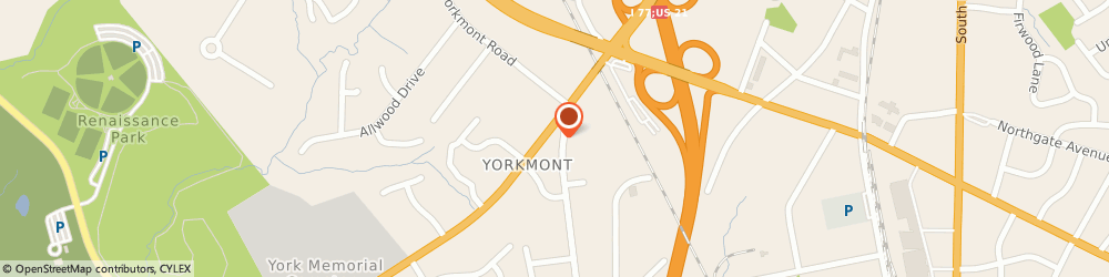 Route/map/directions to Exxon Mobil CHARLOTTE, 28217 Charlotte, 4923 S. Tryon Street