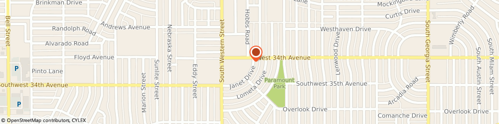 Route/map/directions to Aflac, 79109 Amarillo, 4101 SW 34th Ave