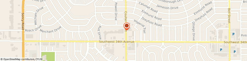 Route/map/directions to Great Clips, 79106 Amarillo, 3300 S Coulter St