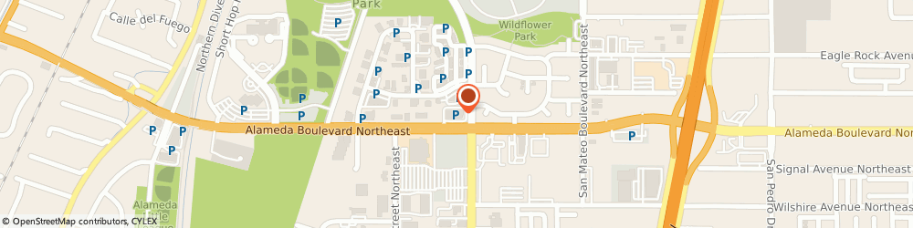 Route/map/directions to Rays Flooring, 87113 Albuquerque, 4801 ALAMEDA BOULEVARD NORTHEAST SUITE D2