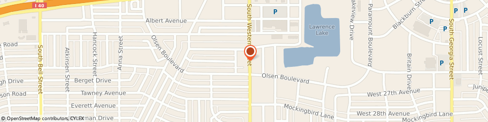 Route/map/directions to Farmers Insurance - Mary Leslie Massey, 79109 Amarillo, 2700 S Western St