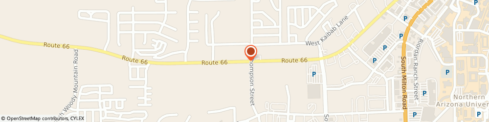 Route/map/directions to Best Wester Kings House Motel, 86001 Flagstaff, 1560 EAST ROUTE 66