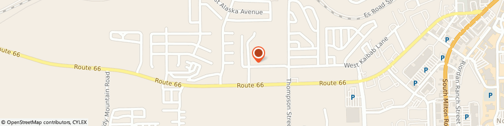 Route/map/directions to Southern Tire Mart, 86001 Flagstaff, 2000 West Kaibab Ln.