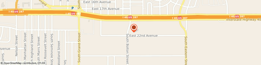 Route/map/directions to S & L AUTOMOTIVE, 79103 Amarillo, 1841 S Bolton St