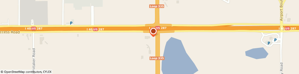 Route/map/directions to Dunkin', 79118 Amarillo, 8500 I-40 E