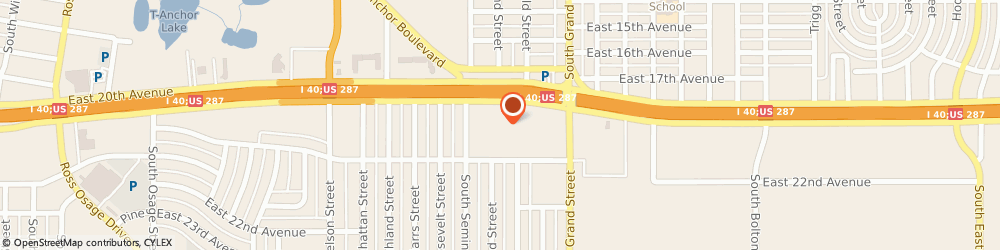 Route/map/directions to Fred Loya Insurance, 79103 Amarillo, 3300 I-40 East Suite K