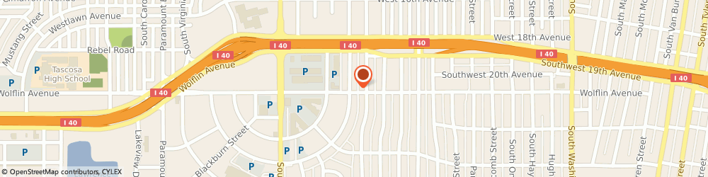 Route/map/directions to Roto-Rooter Plumbing, 79109 Amarillo, 1831 S Austin St