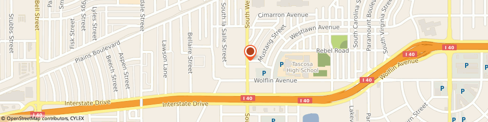 Route/map/directions to STATE FARM Jason Chafe, 79106 Amarillo, 1722 S Western St