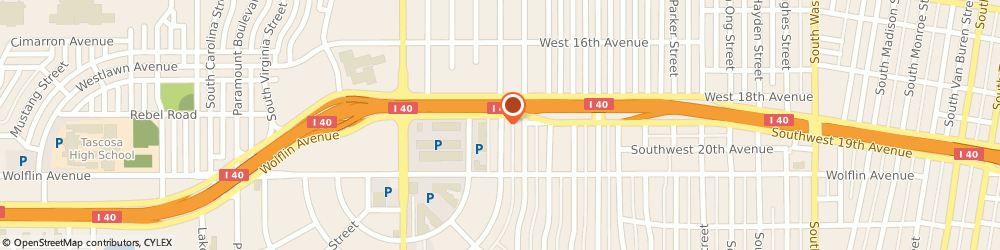 Route/map/directions to a-1 American, 79109 Amarillo, 1831 SOUTH AUSTIN STREET