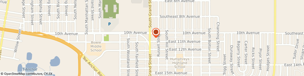 Route/map/directions to Farmers Insurance - Corina Hoang, 79104 Amarillo, 1409 S Grand St
