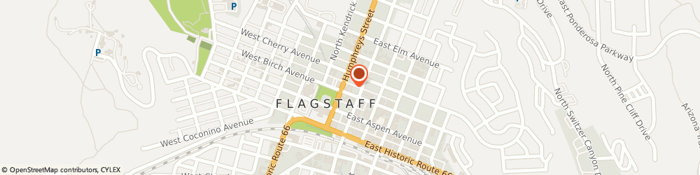Route/map/directions to Chase Bank, 86001 Flagstaff, 100 W Birch Ave