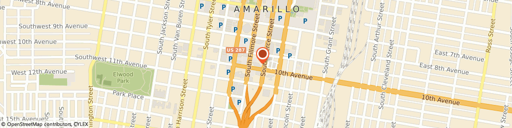 Route/map/directions to Wells Fargo Bank, 79101 Amarillo, 905 S Fillmore St