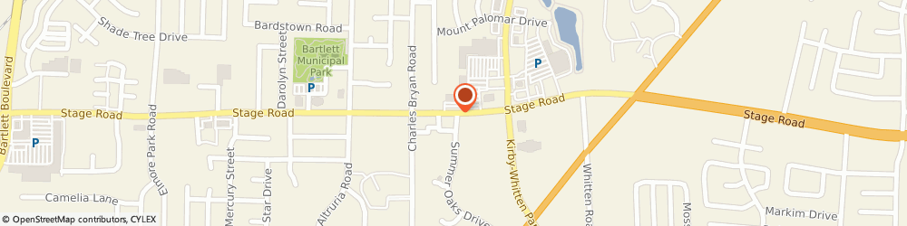 Route/map/directions to Blimpie Subs & Salads, 38134 Memphis, 6600 STAGE RD # 109