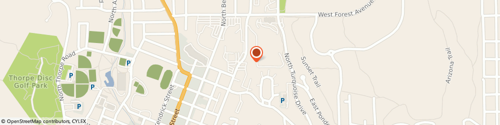 Route/map/directions to Test Me DNA - Flagstaff, 86001 Flagstaff, 1100 N San Francisco St
