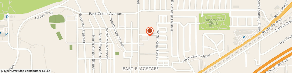 Route/map/directions to Merry Maids of Flagstaff, 86004 Flagstaff, 2708 N 4th St