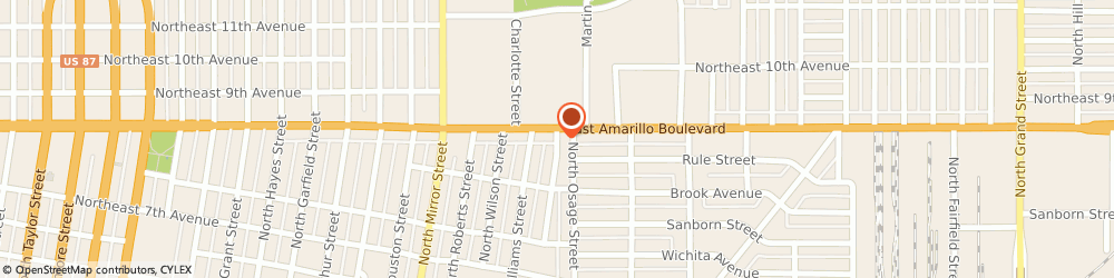 Route/map/directions to Jackson Hewitt Tax Service, 79107 Amarillo, 1800 EAST  BOULEVARD