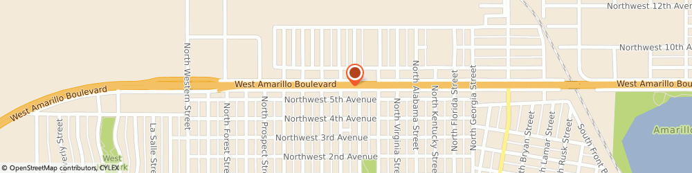 Route/map/directions to Interstate Batteries Dealer, 79106 Amarillo, 3311 W Amarillo Blvd